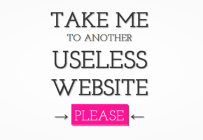 Δείξε μου κι άλλο άχρηστο internet, παρακαλώ
