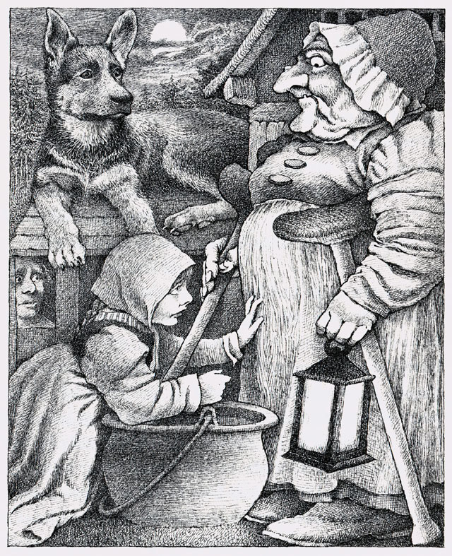 The-Juniper-Tree-collected-by-the-Brothers-Grimm_Pictures-by-Maurice-Sendak