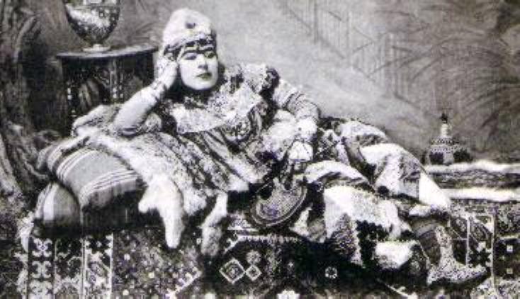 Τούρκος χορευτής Köçek του 19ου αιώνα