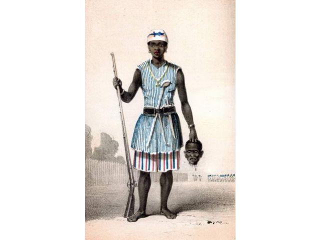 Mino: Αμαζόνα της Δαχομέης