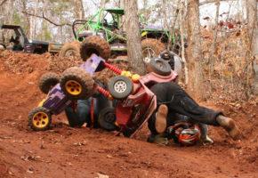 Barbie Jeep Racing