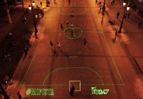 Γήπεδα Φτιαγμένα από Laser