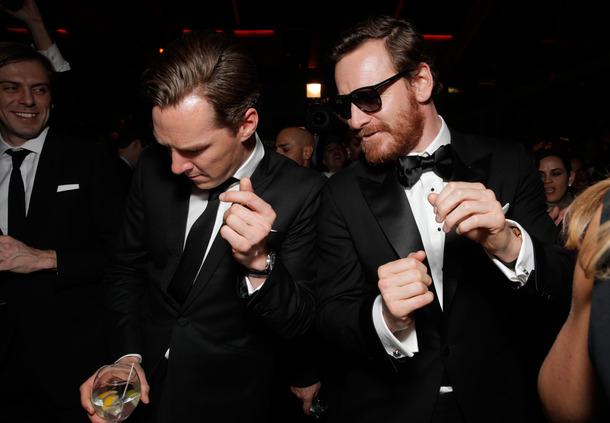 Benedict Cumberbatch, Michael Fassbender