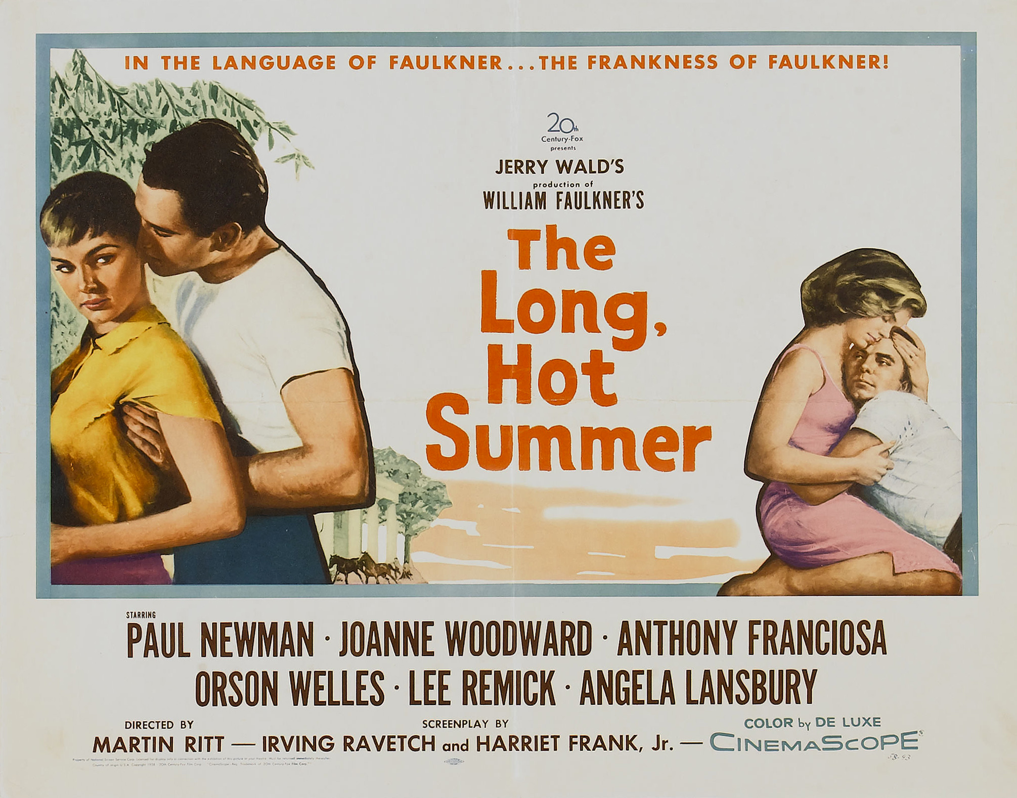Poster - Long, Hot Summer, The_02