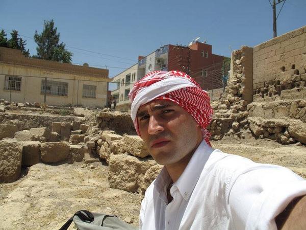 μπογδάνος παλαιστινιακό φουλάρι