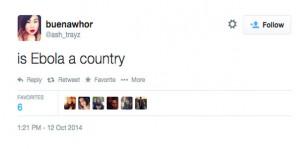Τα 10 πιο ηλίθια σχόλια που γράφτηκαν για τον ιό Έμπολα στο twitter
