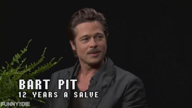 O Brad Pitt είναι το τελευταίο θύμα του Zach Galifianakis στο Between Two Ferns