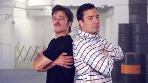 Ο Τζίμι Φάλλον κάνει Breakdance Challenge στον Μπραντ Πιτ