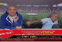 O Tάκης Τσουκαλάς κερδίζει πέναλτι στη νέα του εκπομπή [VIDEO]