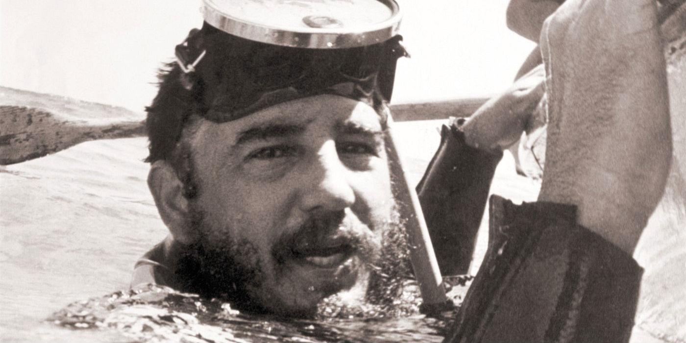 fidel castro scuba diving
