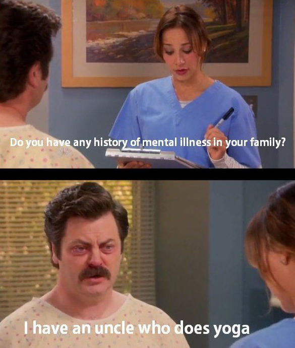 ron swanson do you have