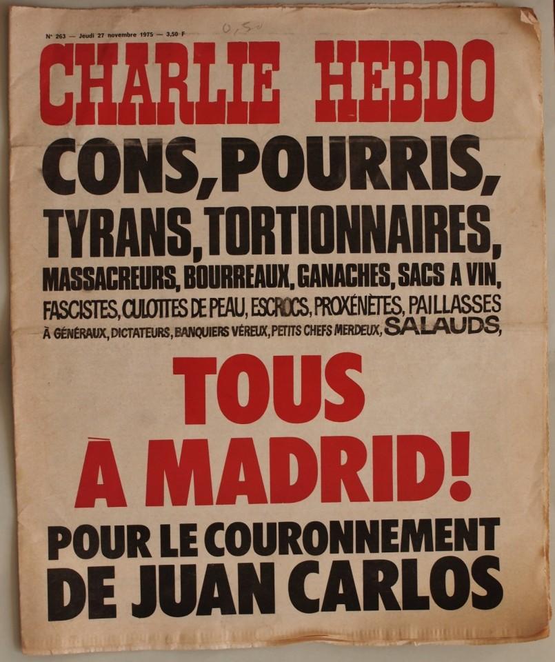 Une-charlie-hebdo-27-nov-1975-juan-carlos-espagne-805x960
