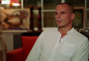 Σύμφωνα με το Mega Channel ο Γιάνης Βαρουφάκης είναι κάτι μεταξύ Μικ Τζαγκερ, Τζον Μ. Κέυνς και γέροντα Παΐσιου