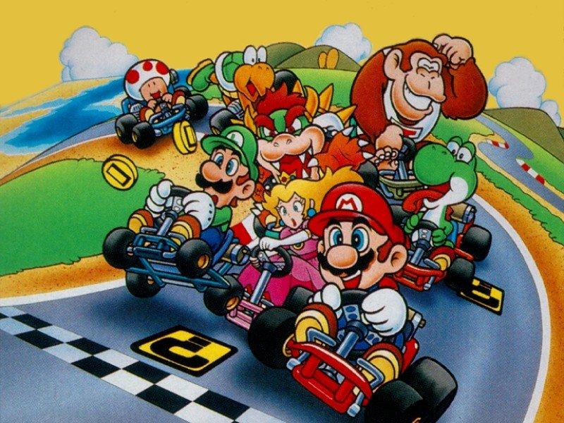 Και μόνο η σκέψη ότι μπορεί σύντομα να παίζει Μario Kart στο κινητό του, ανεβάζει την ποιότητα ζωής ενός ανθρώπου κατά 75%