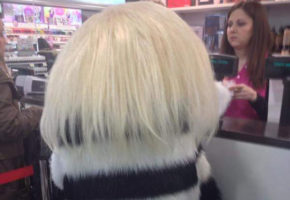 Κυρία στη Θεσσαλονίκη βγάζει βόλτα το πιο διαστημικό μαλλί στην ιστορία των διαστημικών μαλλιών (PHOTO)