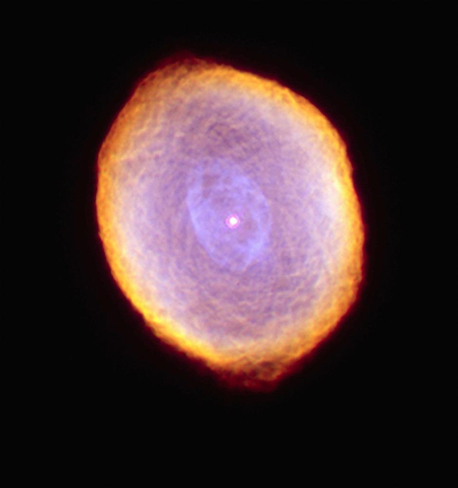 Το λεγόμενο Νεφέλωμα Σπειρογράφημα. Κάπως έτσι θα γίνει κι ο Ήλιος κάποτε αλλά έχουμε ακόμα καιρό