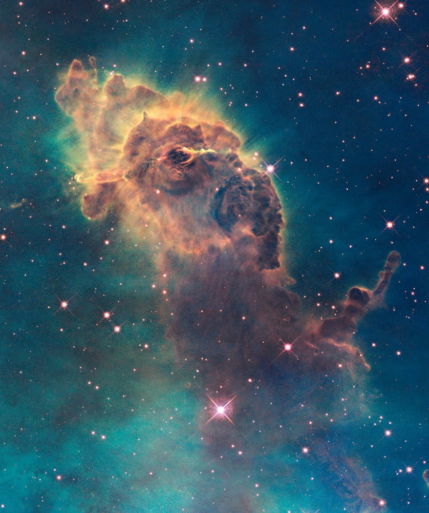 Ένα αστέρι γεννιέται στο Νεφέλωμα Carina