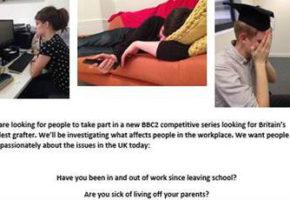 Δουλεύεις σαν το σκυλί για ελάχιστα λεφτά; Στην Αγγλία θα γινόσουν τηλεοπτικός σταρ