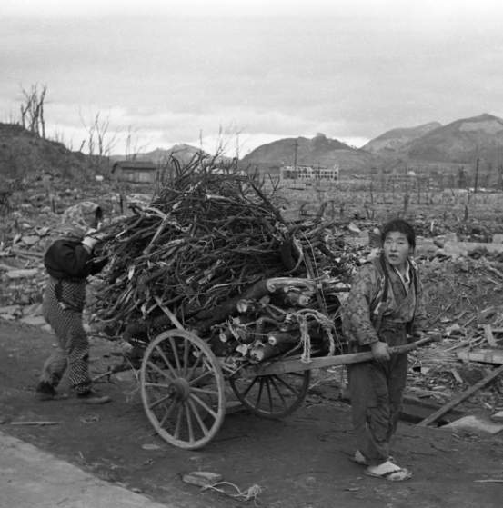 "Not published in LIFE. Nagasaki, 1945, a few months after an American B-29 dropped an atomic bomb, codenamed ""Fat Man,"" on the city."