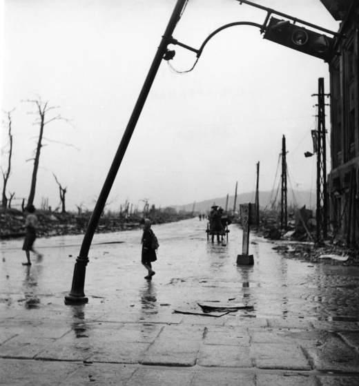 Not published in LIFE. Hiroshima, September, 1945.