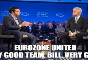 10 memes που δείχνουν τι πραγματικά ειπώθηκε μεταξύ Τσίπρα-Κλίντον