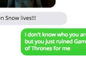 Επιτέλους: Υπάρχει πλέον application για να στείλετε spoilers για Game Of Thrones στους εχθρούς σας