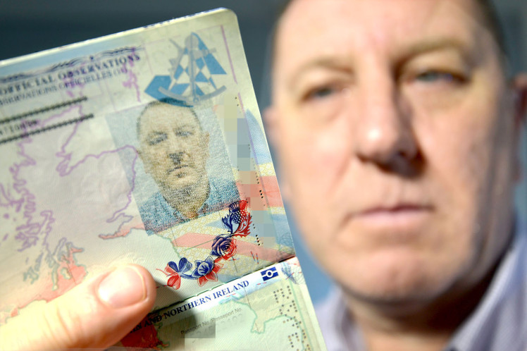 Stuart Boyd is furious after a passport blunder left him looking like Hitler in his new passport.01/06/2016n nnnnnn