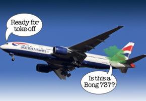Αεροπλάνο της BA από Μ. Βρετανία με προορισμό την Κρήτη επέστρεψε πίσω γιατί βρώμαγε μπαφίλα
