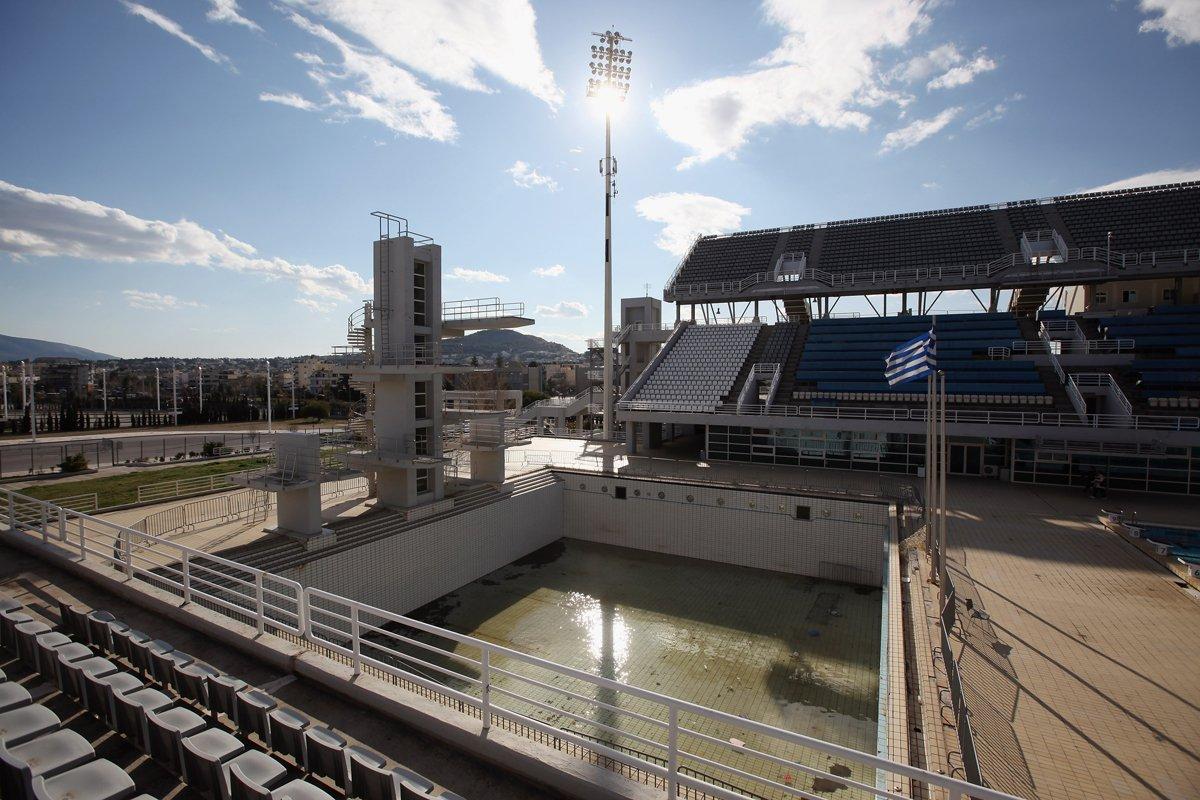 Ολυμπιακή πισίνα αυτοκτονικών καταδύσεων