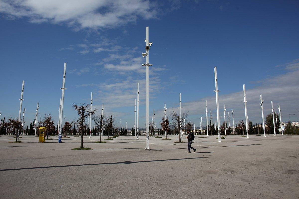 Περίπατος στις Ολυμπιακές εγκαταστάσεις