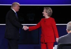 Το ντιμπέιτ μεταξύ Χίλαρι Κλίντον και Ντόναλντ Τραμπ δε βοήθησε να καταλάβεις ποιος είναι χειρότερος