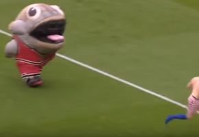 Η μασκότ της Derby County προσφέρει περισσότερο θέαμα από ολόκληρη αγωνιστική της Superleague
