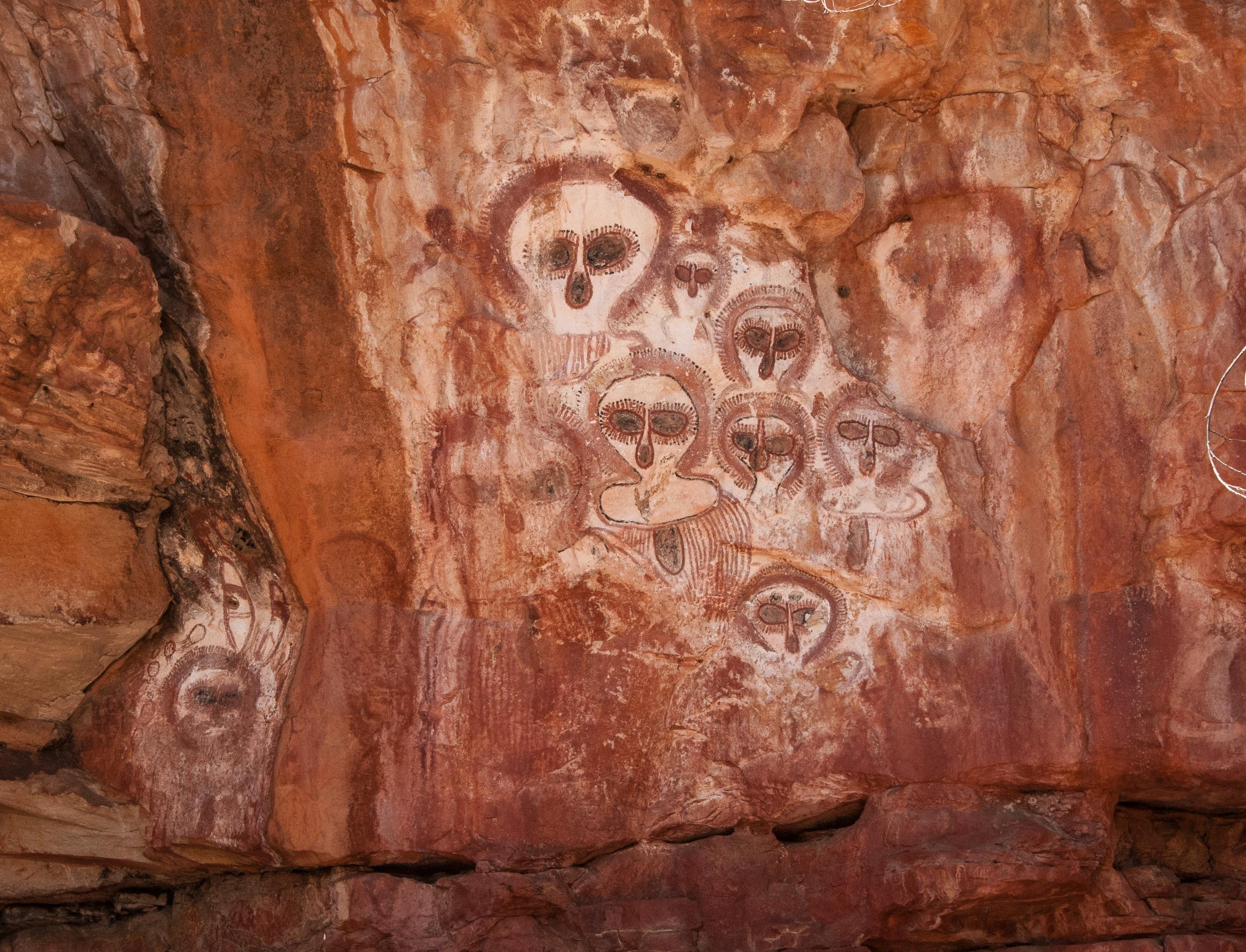 Aboriginal Art, Wunnumurra Gorge