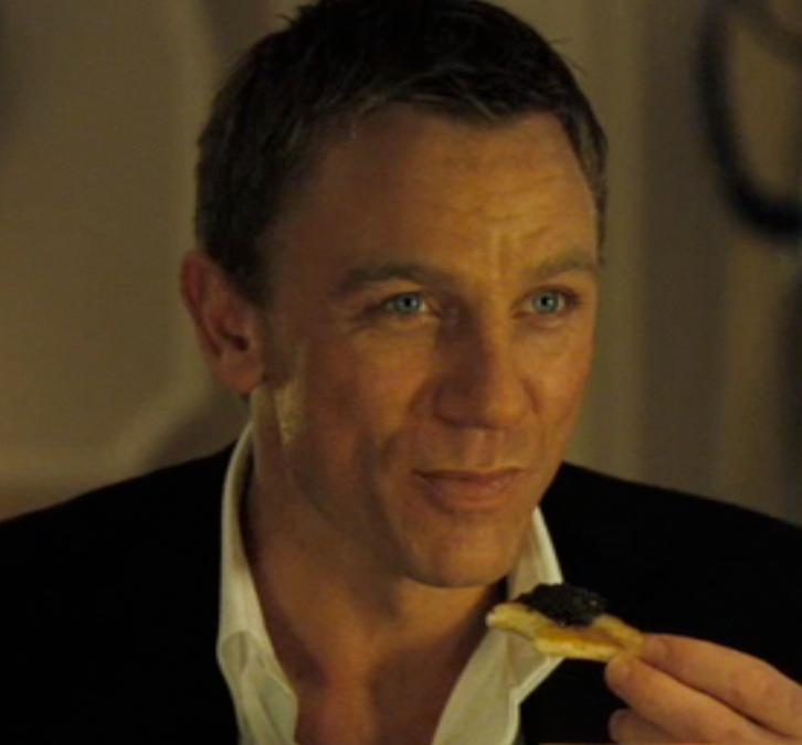 james-bond-007-eating-caviar