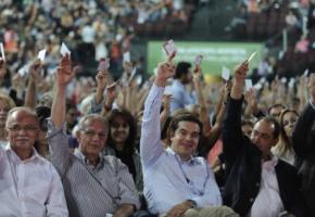 Συνέδριο ΣΥΡΙΖΑ: Καταστατικές συγκρούσεις και διπλή ψηφοφορία με παρέμβαση Τσίπρα