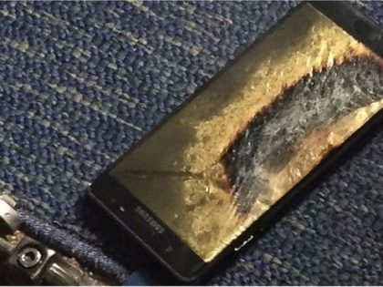 """To Note 7 που υποτίθεται ότι ήταν """"safe replacement"""" της πρώτης σειράς Note 7. Άρπαξε φωτιά μέσα σε αεροσκάφος της Southwest Airlines"""