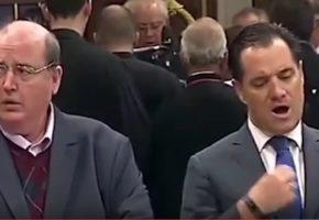 Αυτό το βίντεο με Φίλη και Γεωργιάδη είναι το μόνο που κρατάμε από τη φετινή παρέλαση (VIDEO)