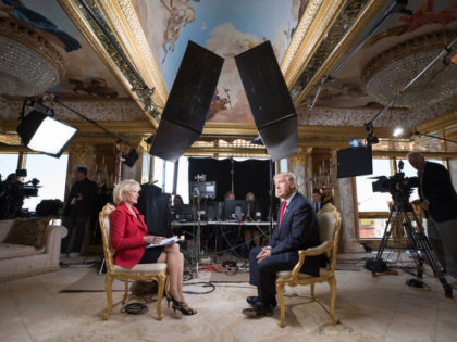 In this image released by CBS News, 60 MINUTES Correspondent  Lesley Stahl interviews President-elect Donald J. Trump at his home, Friday, Nov. 11, 2016, in New York. The first post-election interview for television will be broadcast on 60 MINUTES on Sunday. (Chris Albert for CBSNews/60MINUTES via AP)