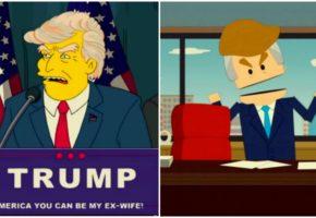 """Όταν οι Simpsons και το South Park """"προέβλεπαν"""" το μέλλον της Αμερικής"""
