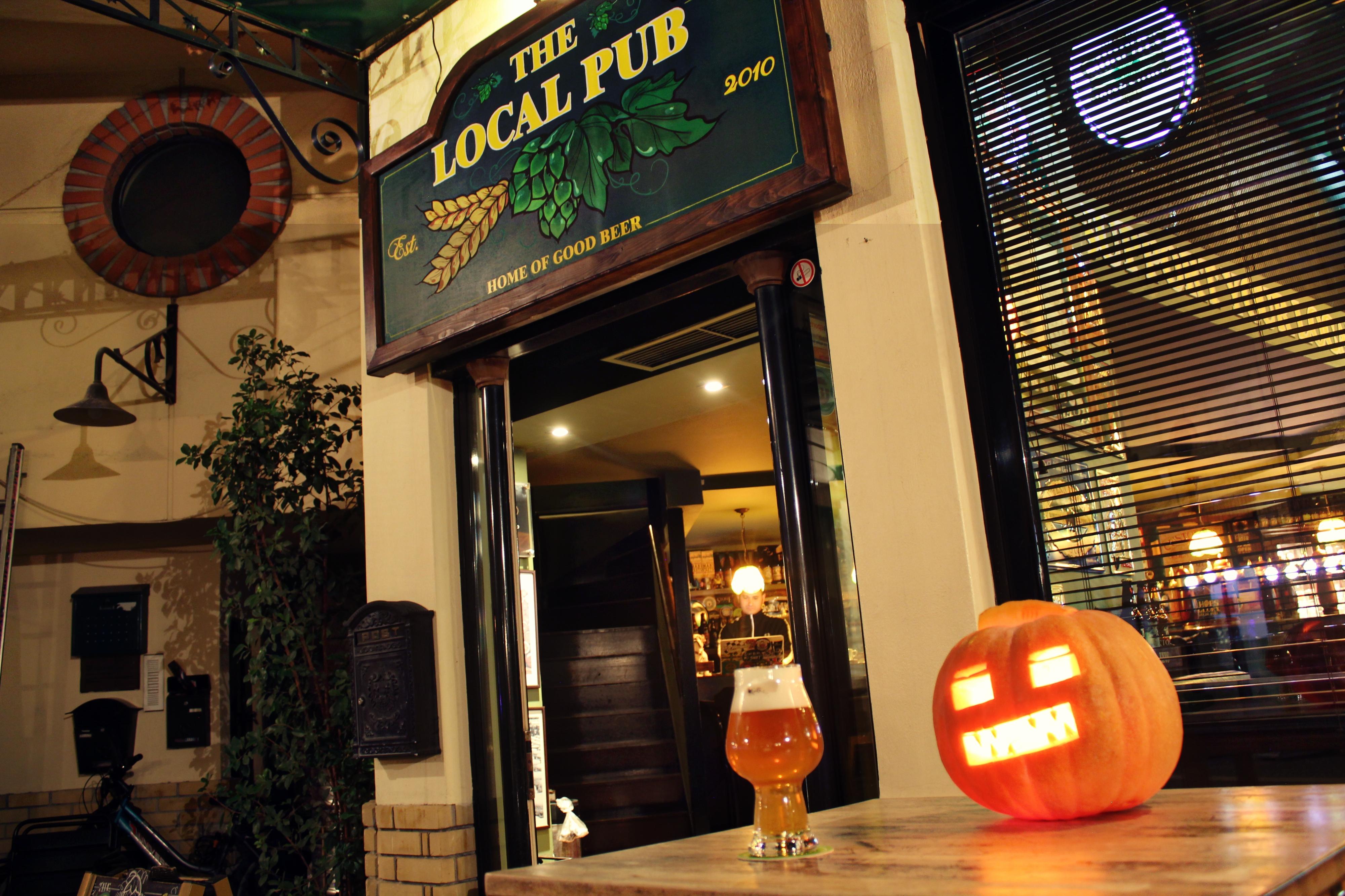 H Local Pub στο Χαλάνδρι είναι το βασικό σημείο πώλησης της Menace στην Αθήνα