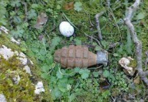 Εντοπίστηκε χειροβομβίδα σε πάρκο απέναντι από δημοτικά σχολεία στο Γαλάτσι
