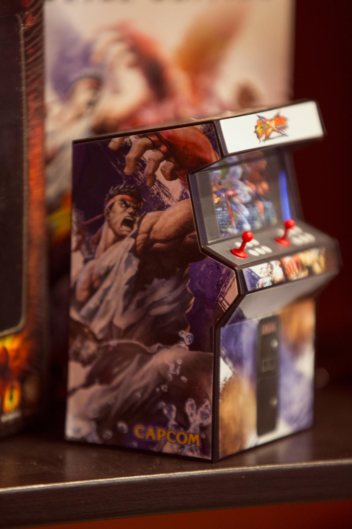 Μικρογραφία arcade από Street Fighter και Tekken