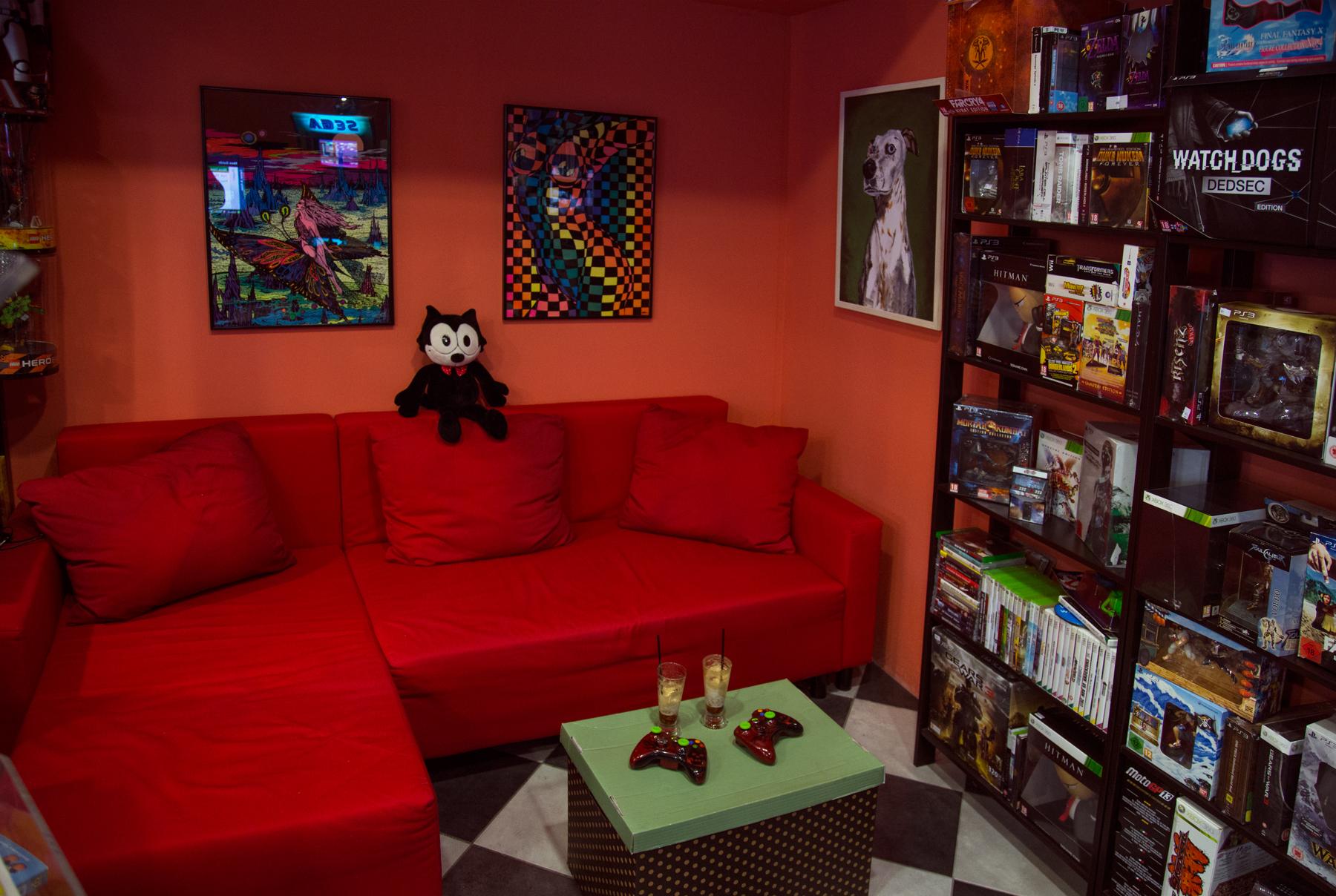 Το πιο δυνατό σημείο του Παιχνοδρομίου: Kαναπεδάκι για chat, gaming και γνωριμίες