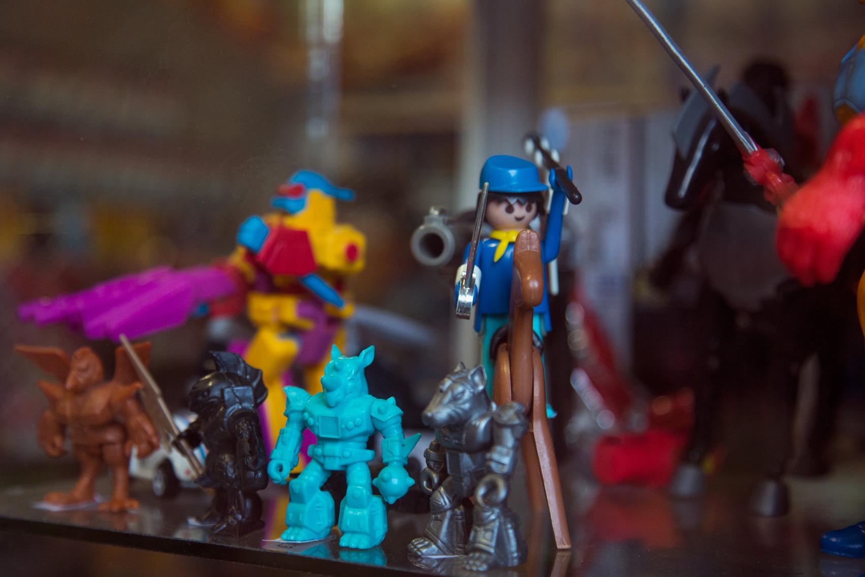 Εξωγήινοι Τερατομάχοι + Playmobil Fort soldiers