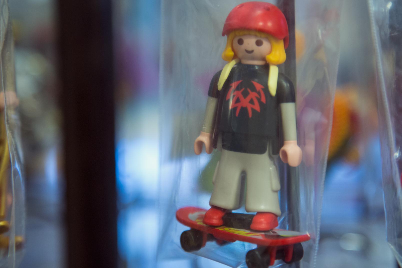 Playmobil από όλες τις δεκαετίες, από αρχές 80s με Lyra μέχρι 2016 με Zeus και Athena της Geobra