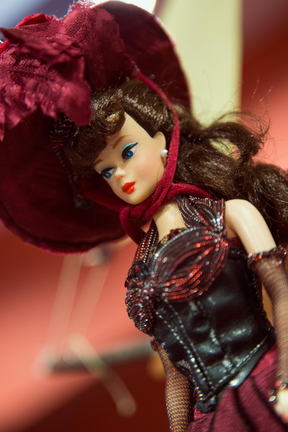 Barbie Reproduction μεχειροποίητο ιταλικό φόρεμα