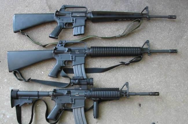 m16-rifles