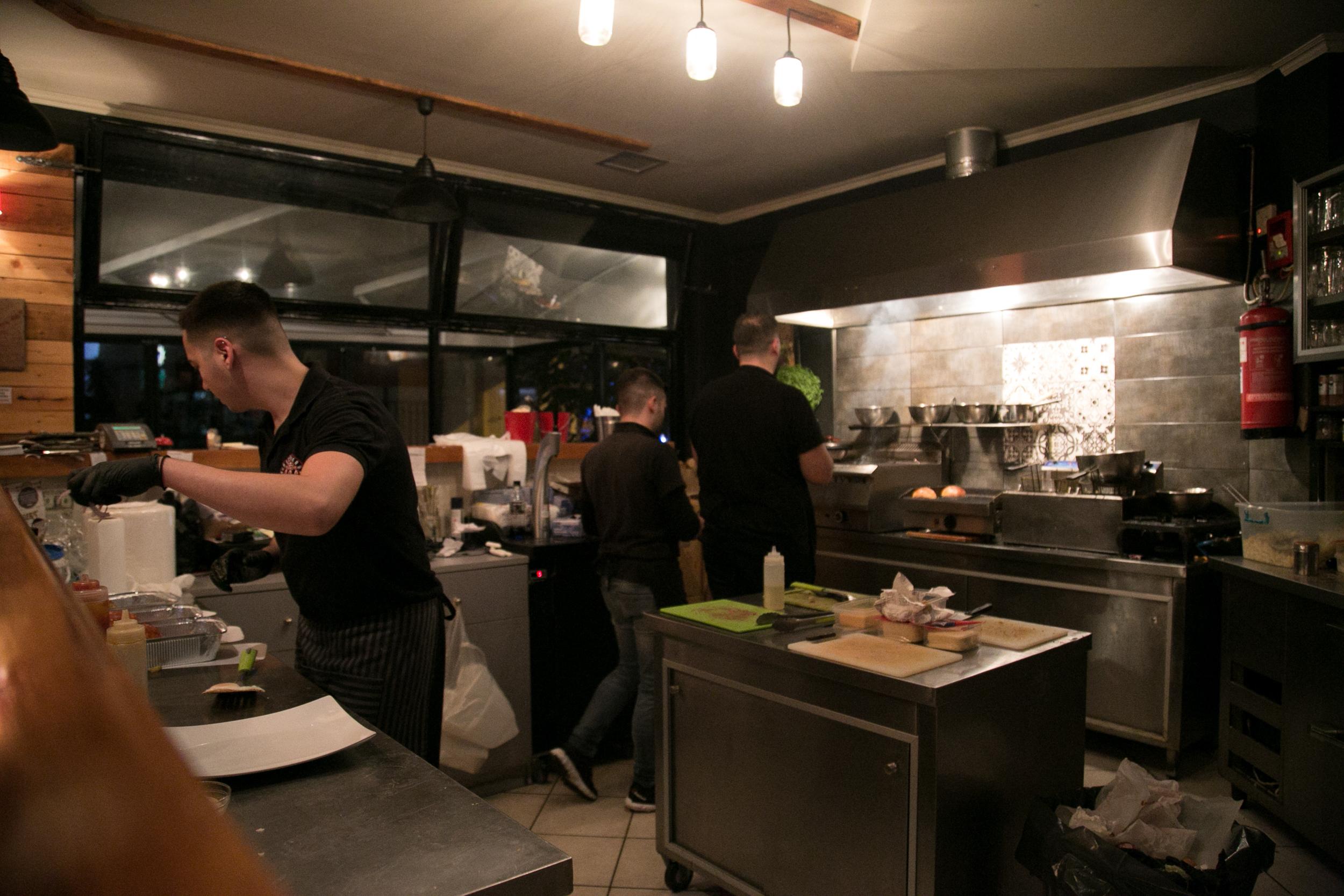 Η ανοιχτή κουζίνα