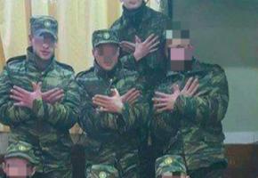 Αντιμέτωποι με το στρατιωτικό εισαγγελέα και φυλάκιση εώς 5 χρόνια οι νεοσύλλεκτοι που έκαναν με το χέρι τον αλβανικό αετό