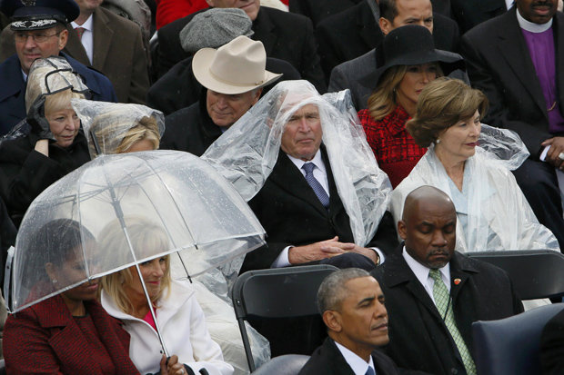 Donald-Trump-Inauguration-Day-George-W-Bush-Raincoat-Poncho-President-Speech-796517